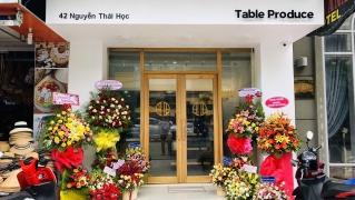 Opening of a food select shop named 「Table Produce」